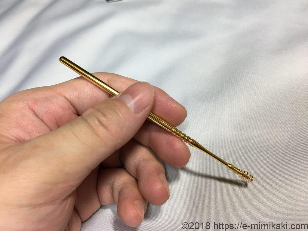 ののじの耳かきコイル型